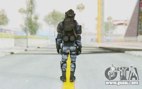 Federation Elite LMG Urban-Navy para GTA San Andreas tercera pantalla