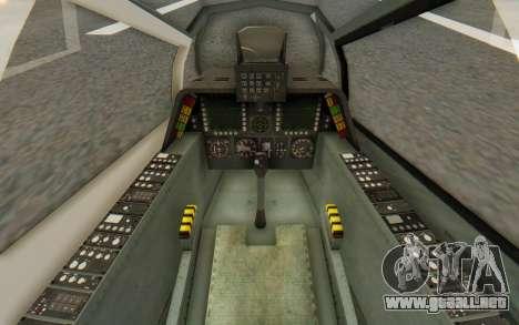 WZ-19 Attack Helicopter para vista lateral GTA San Andreas