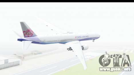 Boeing 777-300ER China Airlines Dreamliner para GTA San Andreas left