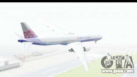 Boeing 777-300ER China Airlines Dreamliner para GTA San Andreas left