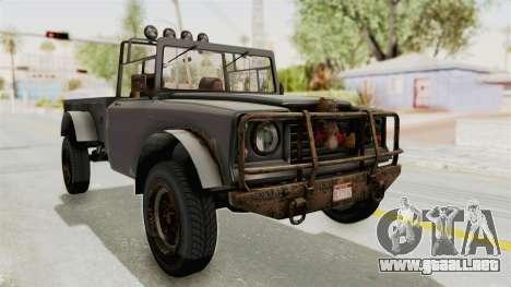 GTA 5 Canis Bodhi Trevor para la visión correcta GTA San Andreas