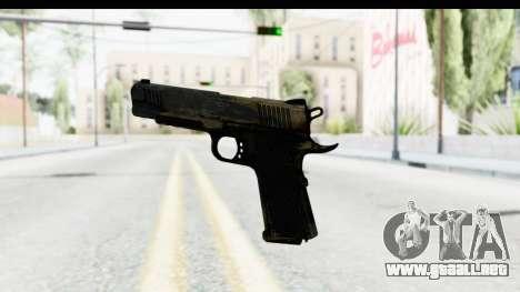 FarCry 3 - Colt 1911 para GTA San Andreas tercera pantalla