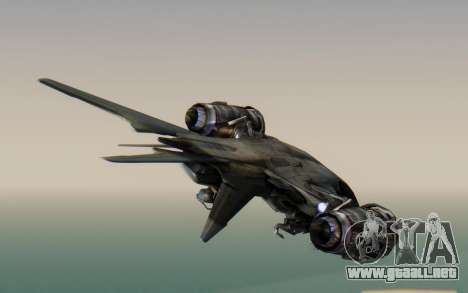 HK Aerial from Terminator Salvation para GTA San Andreas left