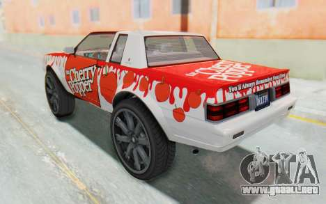 GTA 5 Willard Faction Custom Donk v3 para vista lateral GTA San Andreas