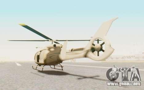 GTA 5 Maibatsu Frogger Civilian para GTA San Andreas left