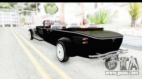 Unique V16 Phaeton VIP para GTA San Andreas vista posterior izquierda