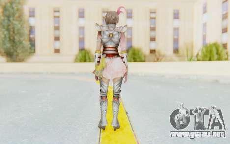 Dynasty Warriors 8 - Lu Lingqi v2 para GTA San Andreas tercera pantalla