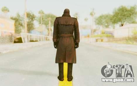 Marvel Future Fight - Punisher (Noir) para GTA San Andreas tercera pantalla