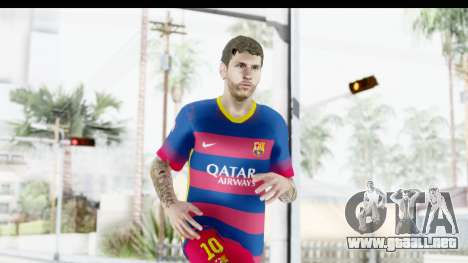 Lionel Messi para GTA San Andreas