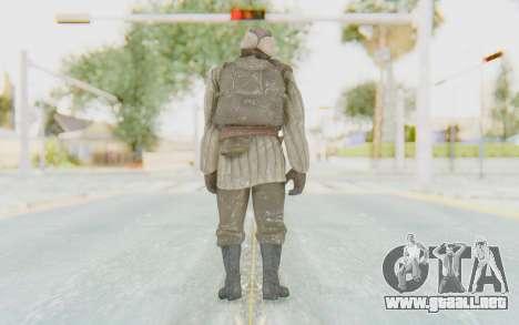COD BO Dimitri Petrenko Winter para GTA San Andreas tercera pantalla