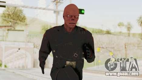 Captain America Super Soldier - Red Skull para GTA San Andreas