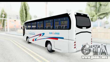 Neoplan Lasta Bus para GTA San Andreas left