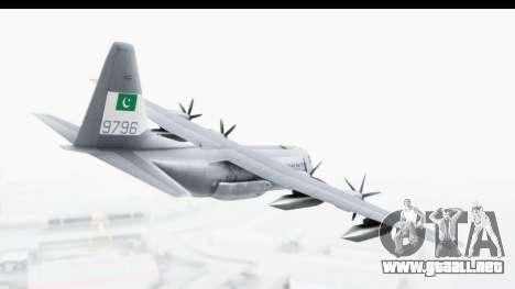 C-130 Pakistan para la visión correcta GTA San Andreas