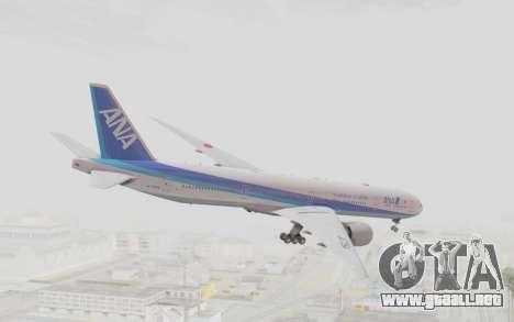 Boeing 777-300ER ANA JA735A para GTA San Andreas left