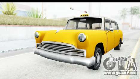 Cabbie London para la visión correcta GTA San Andreas