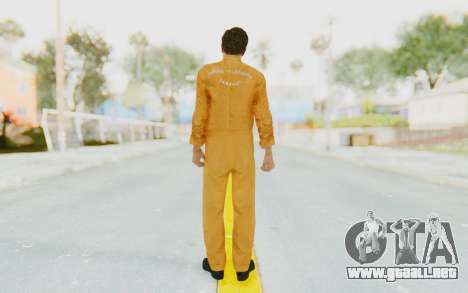 Mafia 2 - Vito Scaletta Robber para GTA San Andreas tercera pantalla