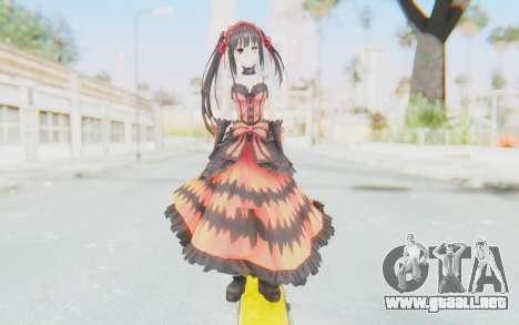 Kurumi Tokisaki (Date A Live) para GTA San Andreas segunda pantalla