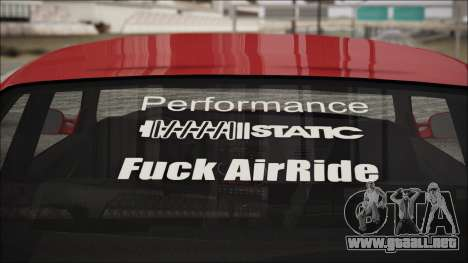 BMW E36 Stance para la visión correcta GTA San Andreas
