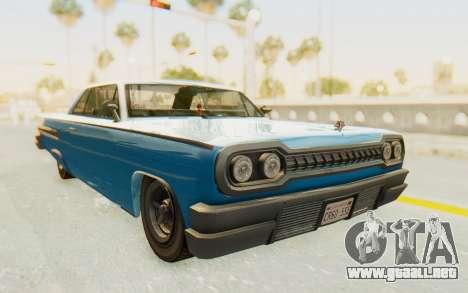 GTA 5 Declasse Voodoo PJ para la visión correcta GTA San Andreas