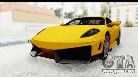 Ferrari F430 SVR para la visión correcta GTA San Andreas