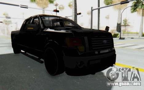 Ford F-150 JDM para la visión correcta GTA San Andreas