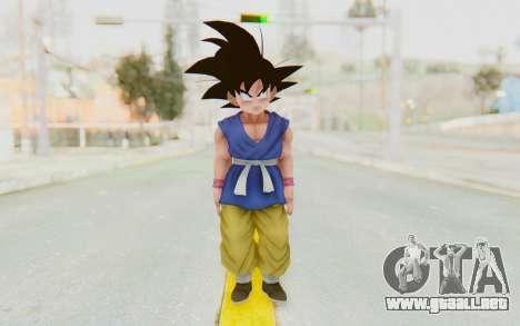 Dragon Ball Xenoverse Goku Kid GT SJ para GTA San Andreas segunda pantalla