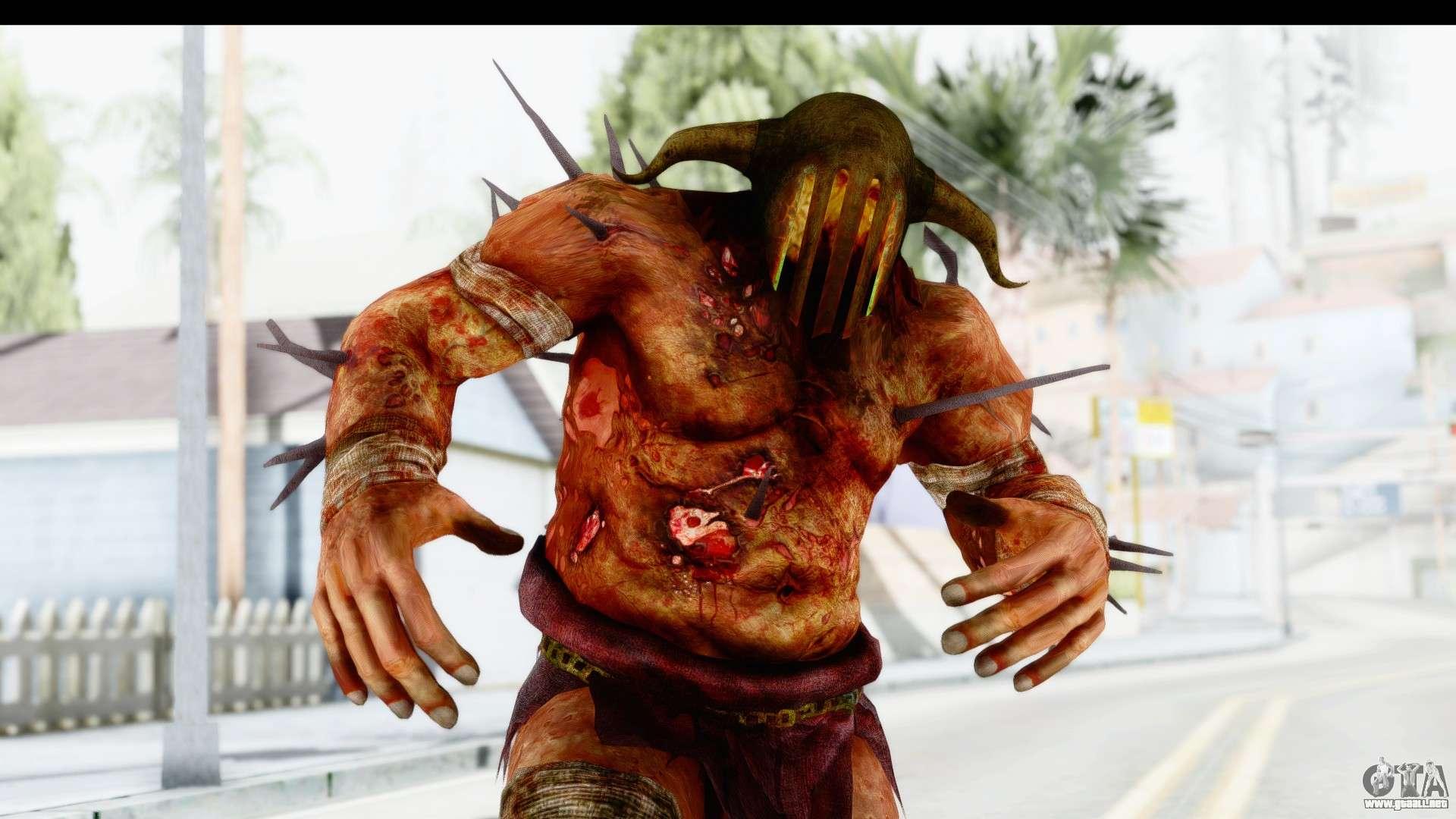 God Of War 3 Hades Para Gta San Andreas