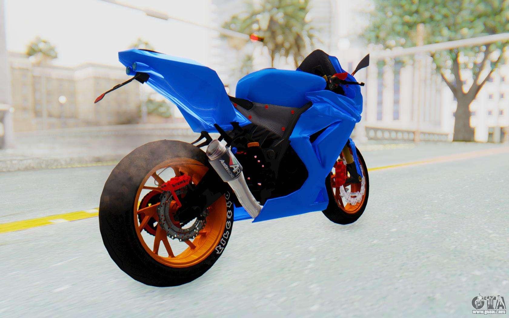 Kawasaki Ninja 250R Streetrace for GTA San Andreas