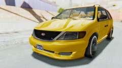 GTA 5 Vapid Minivan Custom IVF para GTA San Andreas