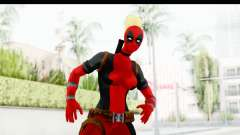 Marvel Heroes - Lady Deadpool para GTA San Andreas