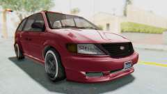GTA 5 Vapid Minivan Custom without Hydro para GTA San Andreas