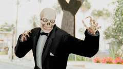 Skeleton in Tuxedo para GTA San Andreas