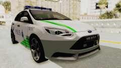 Ford Focus ST 2013 PDRM para GTA San Andreas