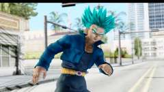 Dragon Ball Xenoverse Future Trunks SSGSS para GTA San Andreas