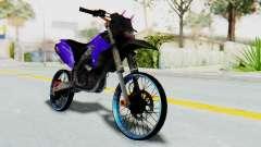 Kawasaki KLX150S Thailock Style para GTA San Andreas