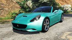 Ferrari California Autovista [add-on] para GTA 5