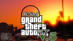 GTA V RE-Tamaño de la V5.5 ( Estable )