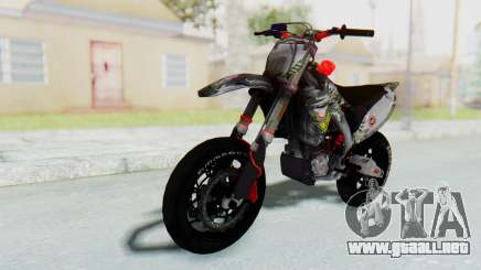 Kawasaki KX125 Supermoto v2 High Modif para GTA San Andreas