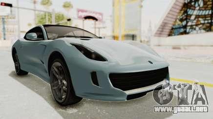GTA 5 Grotti Bestia GTS v2 SA Lights para GTA San Andreas