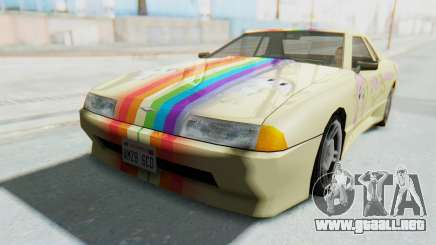 Elegy MLP Fluttershy PJ para GTA San Andreas