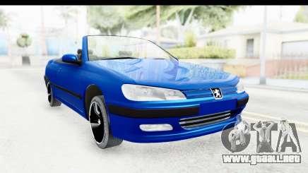Peugeot 406 Cabrio Beta 0.8.3 para GTA San Andreas