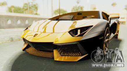 Lamborghini Aventador LP700-4 Light Tune para GTA San Andreas