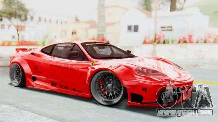 Ferrari 360 Modena Liberty Walk LB Perfomance v2 para GTA San Andreas