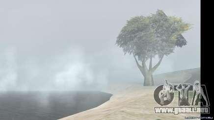 El cambio de clima y el tiempo para GTA San Andreas