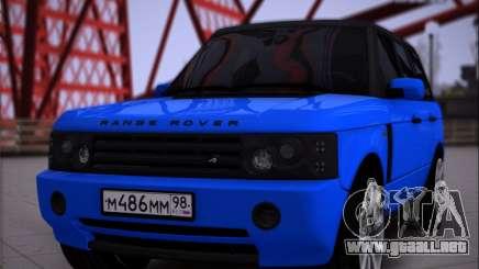 Range Rover Sport Pintoresca para GTA San Andreas