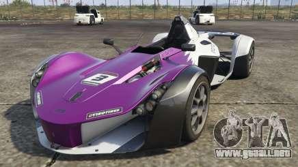 El BAC Mono (Nuevo modelo) para GTA 5