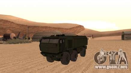 KAMAZ 63968 Tifón para GTA San Andreas