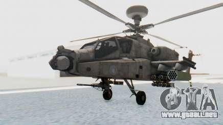 AH-64 Apache Desert para GTA San Andreas