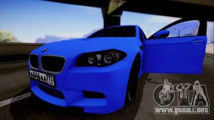 BMW M5 F10 G-Power para GTA San Andreas