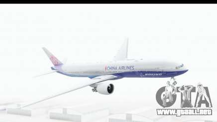 Boeing 777-300ER China Airlines Dreamliner para GTA San Andreas